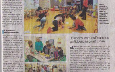 La semaine des mathématiques s'est invitée à l'école des Poussous