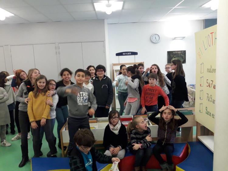 La Grange des Maths visite les Poussous