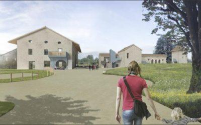 Le futur bâtiment de la Grange des Maths
