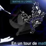 3ème édition des Maths à l'Oriel